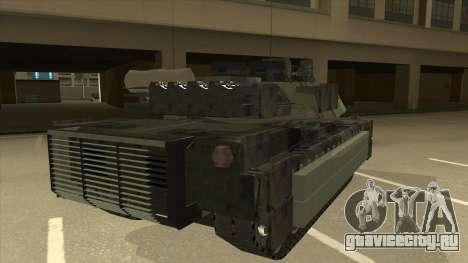 M69A2 Rhino Bosque для GTA San Andreas вид справа