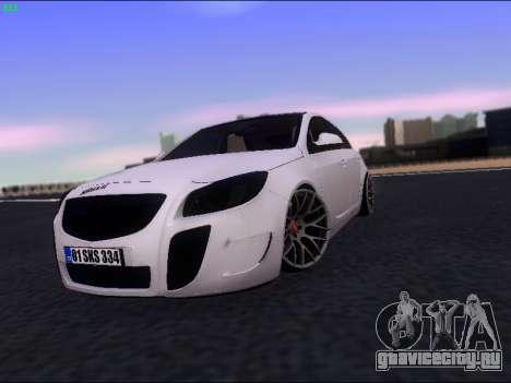 Opel Insignia для GTA San Andreas