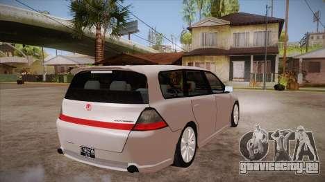 Honda Odyssey v1.5 для GTA San Andreas вид справа