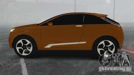Lada XRay Concept для GTA 4 вид слева