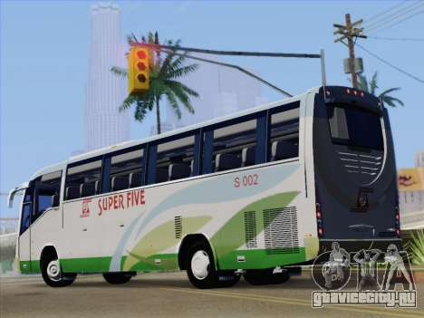 Irizar Mercedes Benz MQ2547 Super Five S 002 для GTA San Andreas вид сбоку