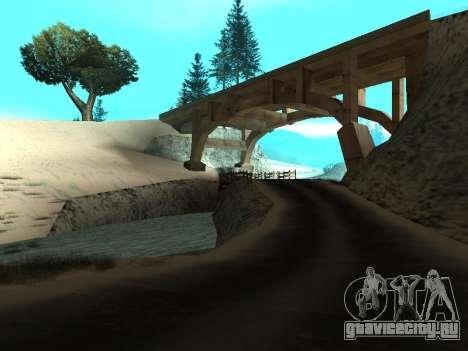 Зима v1 для GTA San Andreas второй скриншот