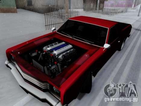Picador V8 Picadas для GTA San Andreas вид сзади слева