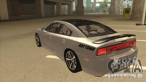 Dodge Charger RT Daytona 2011 V1.0 для GTA San Andreas вид сзади