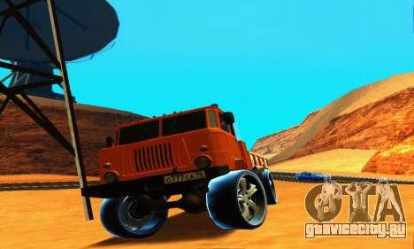 ГАЗ 66 Кавказ для GTA San Andreas вид сбоку