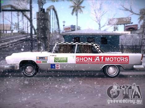 HD Bloodring Banger для GTA San Andreas вид сзади