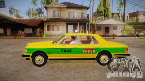 Rolls-Royce Silver Spirit 1990 Taxi для GTA San Andreas вид слева