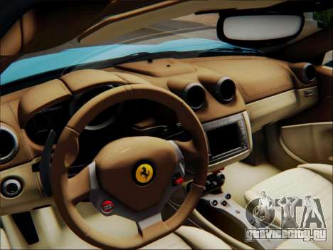 Ferrari California 2009 для GTA San Andreas двигатель