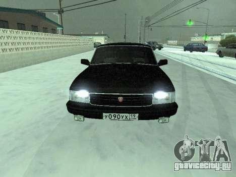 ГАЗ 31029 Волга для GTA San Andreas вид слева