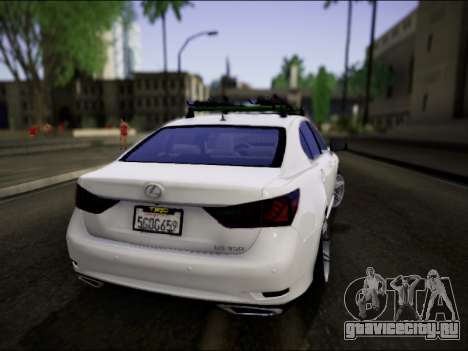 Lexus GS 350 для GTA San Andreas вид слева
