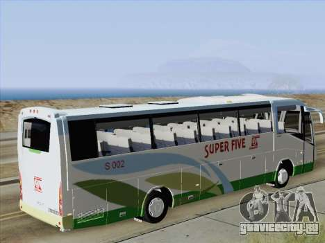 Irizar Mercedes Benz MQ2547 Super Five S 002 для GTA San Andreas вид изнутри