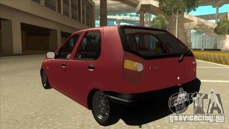 1997 Fiat Palio EDX Edit для GTA San Andreas вид сзади