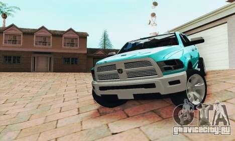 Dodge Ram 2500 HD для GTA San Andreas