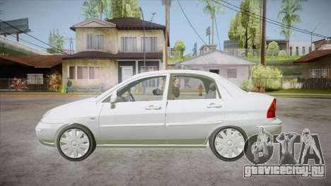 Suzuki Liana 1.3 GLX 2002 для GTA San Andreas вид слева