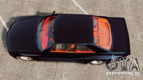 Mercedes-Benz C126 500SEC для GTA 4 вид справа