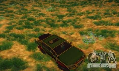 УАЗ Патриот Пикап для GTA San Andreas вид сверху