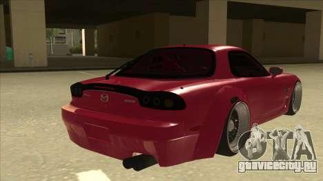 Mazda RX7 FD3S Rocket Bunny для GTA San Andreas вид справа