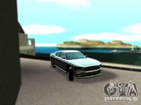 ENBSeries by Krivaseef v2.0 для GTA San Andreas третий скриншот