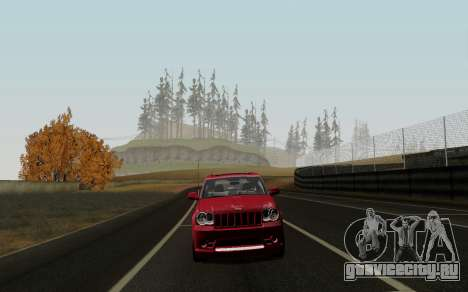 Jeep Grand Cherokee SRT10 для GTA San Andreas вид слева