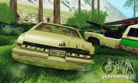 Buick Roadmaster Разбитый для GTA San Andreas вид справа