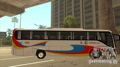 Kinglong XMQ6126Y - GL Trans 559 для GTA San Andreas вид сзади слева
