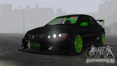 Mitsubishi Lancer Evolution VII Freestyle для GTA 4