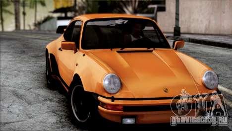 Porsche 911 Turbo 3.3 Coupe 1982 для GTA San Andreas