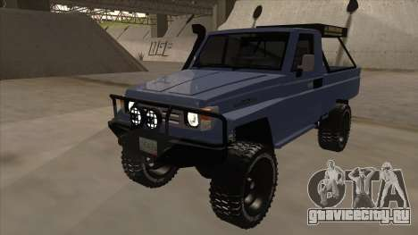 Toyota Machito Pick Up 2009 для GTA San Andreas