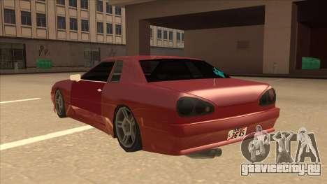 Elegy240sx Street JDM для GTA San Andreas вид сзади