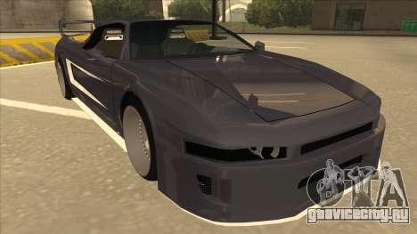 DoTeX Infernus V6 History для GTA San Andreas вид слева