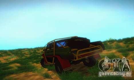 УАЗ Патриот Пикап для GTA San Andreas вид справа