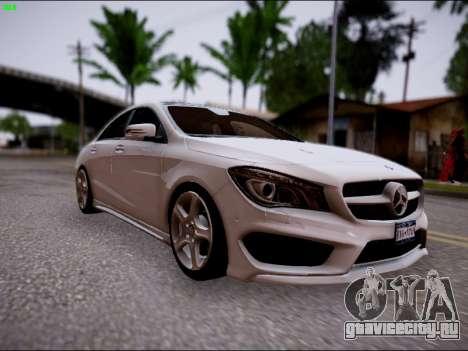 Mercedes-Benz CLA 250 для GTA San Andreas вид справа