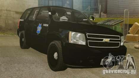 Chevrolet Tahoe 2010 PPV SFPD v1.4 [ELS] для GTA 4