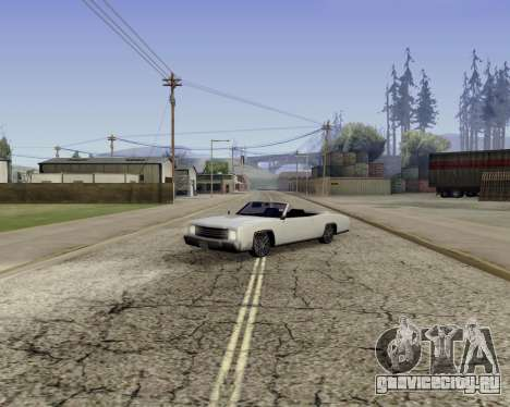 Buccaneer (beta) для GTA San Andreas