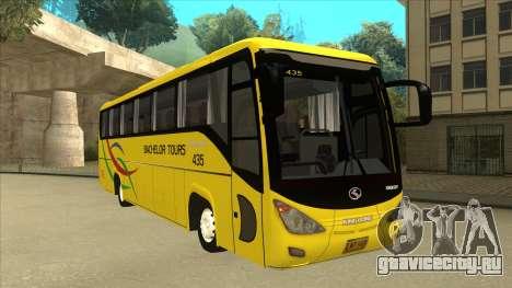 Kinglong XMQ6126Y - Bachelor Tours 435 для GTA San Andreas вид слева