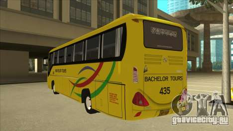 Kinglong XMQ6126Y - Bachelor Tours 435 для GTA San Andreas вид сзади