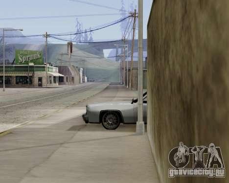Buccaneer (beta) для GTA San Andreas вид сзади слева