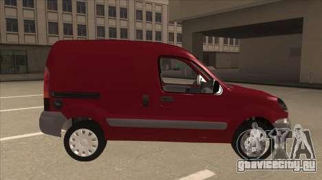 RENAULT KANGOO v1 для GTA San Andreas вид сзади слева