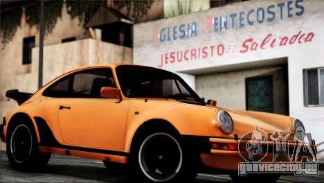 Porsche 911 Turbo 3.3 Coupe 1982 для GTA San Andreas вид справа