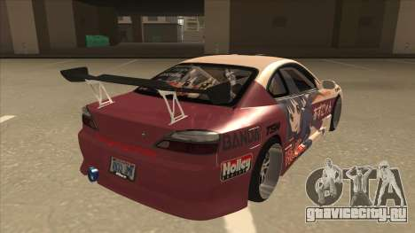 S15 K-ON Itasha для GTA San Andreas вид справа