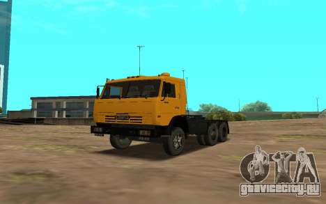 КамАЗ 54115 (Petrol) для GTA San Andreas