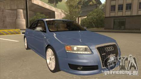 2010 Audi A6 4.2 Quattro для GTA San Andreas вид слева