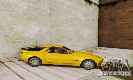 Porsche 928 (1986) v1.1 для GTA San Andreas вид слева