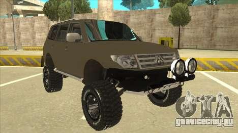 Mitsubishi Montero EDVARD [ERICK] для GTA San Andreas вид слева