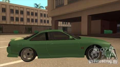 Nissan Silvia S14 Kouki Hellaflush V2 для GTA San Andreas