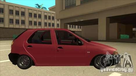 1997 Fiat Palio EDX Edit для GTA San Andreas вид сзади слева