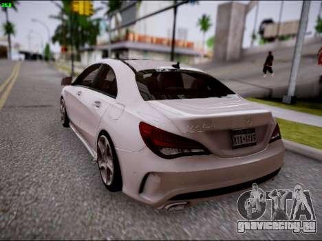 Mercedes-Benz CLA 250 для GTA San Andreas вид сбоку