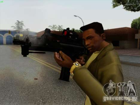 HK-G36C для GTA San Andreas третий скриншот