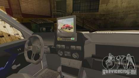 Tofas Dogan SLX для GTA 4 вид изнутри