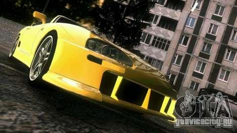 Toyota Supra TRD для GTA Vice City вид сверху